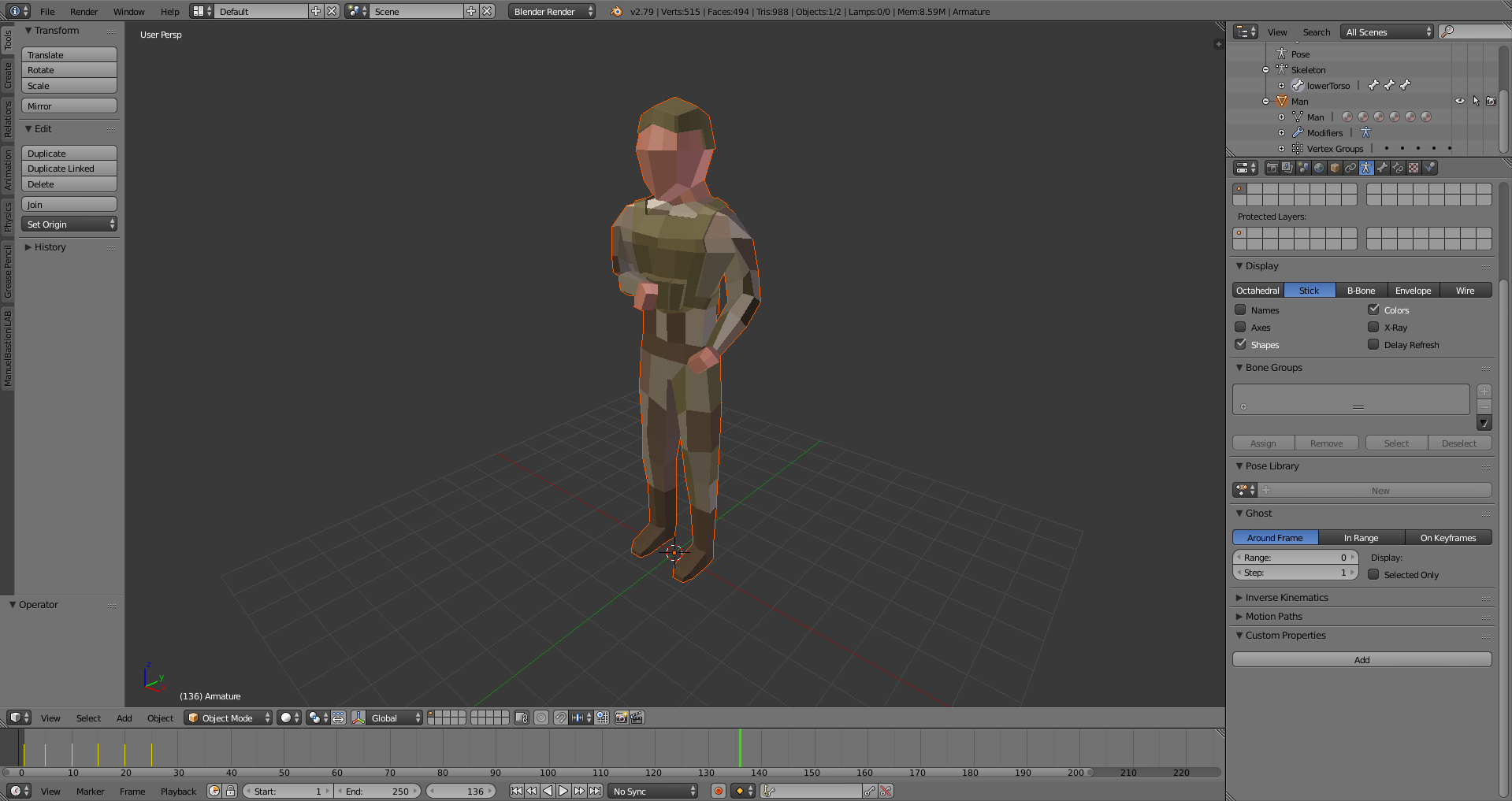 Simple Free Low Poly 3D Soldier Model - General Talk - HTML5